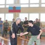 Руководитель школы рукопашного боя Сергей Полунин провел семинар