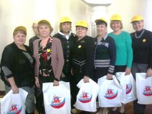 Красноглинская делегация на Дне добровольца
