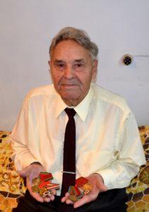 Ветеран Виктор Степанов