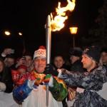 Эстафета олимпийского огня в Самаре