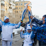 Паралимпийский огонь в Самаре