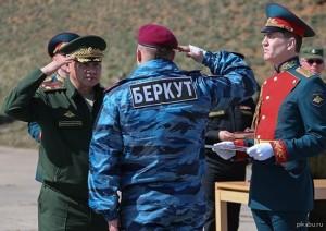 Беркутовцев трудоустроят в России