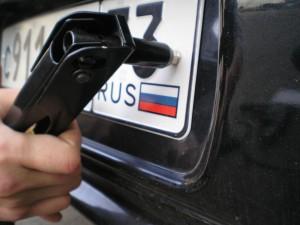 Кража автомобильных номеров в Самаре