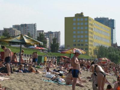 Открытие пляжного сезона в Самаре