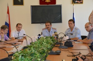 Пресс-конференция в ГУ МВД России по Самарской области