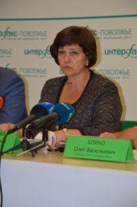 врио министра социально-демографической и семейной политики Самарской области Марина Антимонова