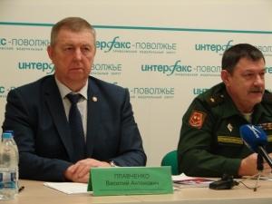 Начальник регионального отделения ДОСААФ России Самарской области Василий Антонович Плавченко