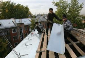 Что делать, если течет крыша?