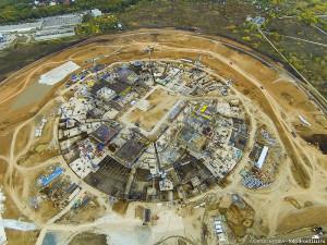 Строительство стадиона Космос-Арена в Самаре