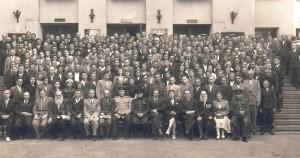Второй съезд профсоюзов России в Ленинграде в 1947 году