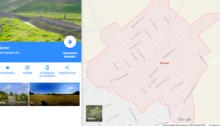 Гугл переименовал названия в Крыму на русские