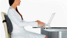 Ортопедическая подушка на офисный стул