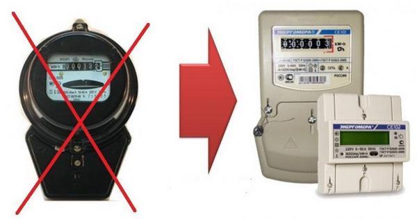 Как поменять электросчетчик вквартире: порядок