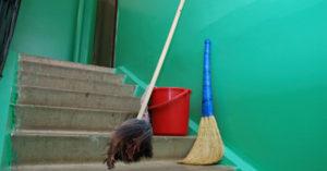 уборку многоквартирных домов
