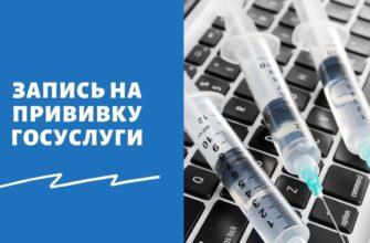 Запись на вакцинацию через Госуслуги - пошаговая инструкция