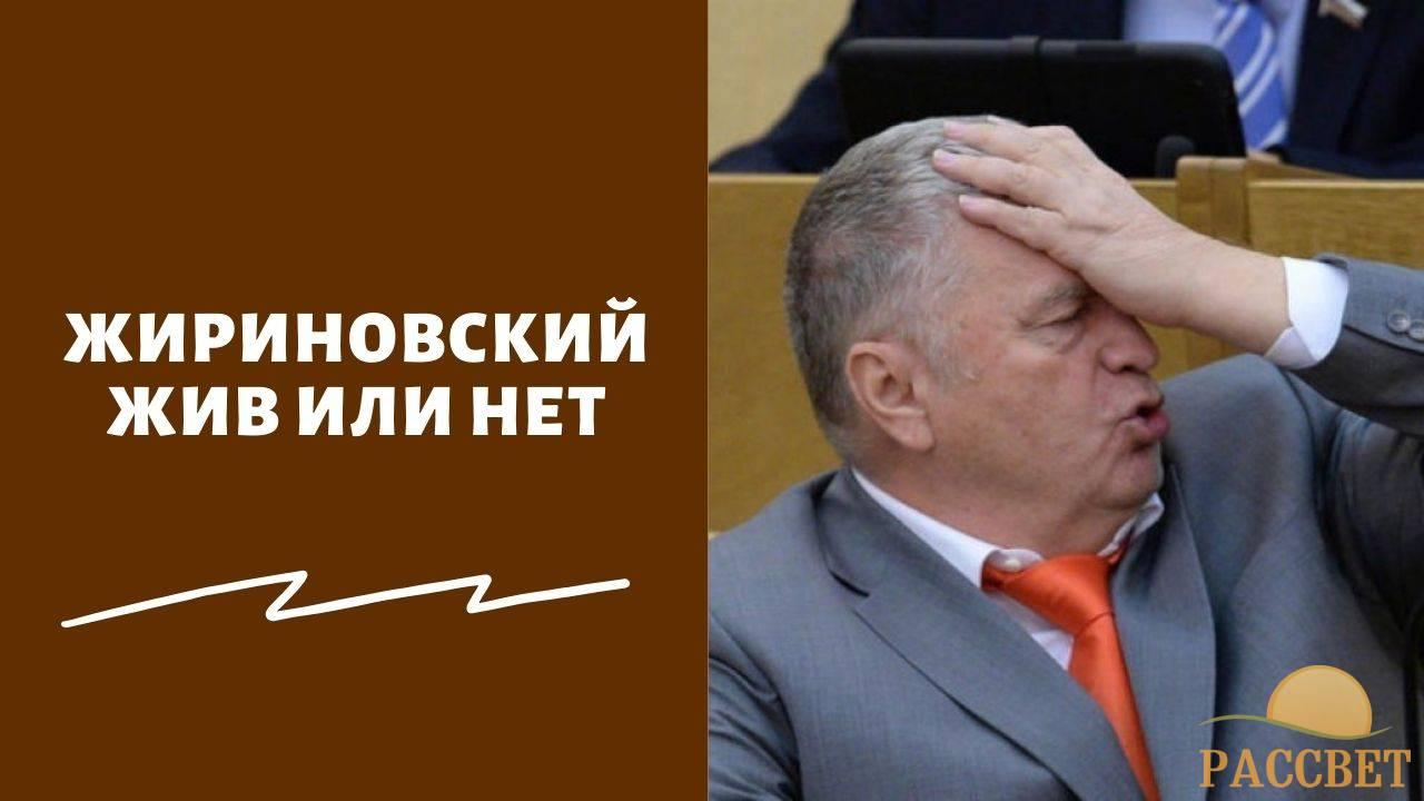 Новости о смерти Владимира Жириновского — правда или нет